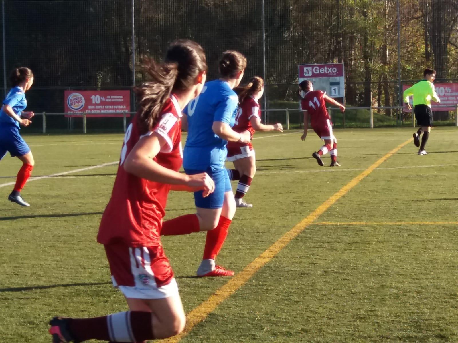 Bizkerre 1 – 0 Indautxu Femenino
