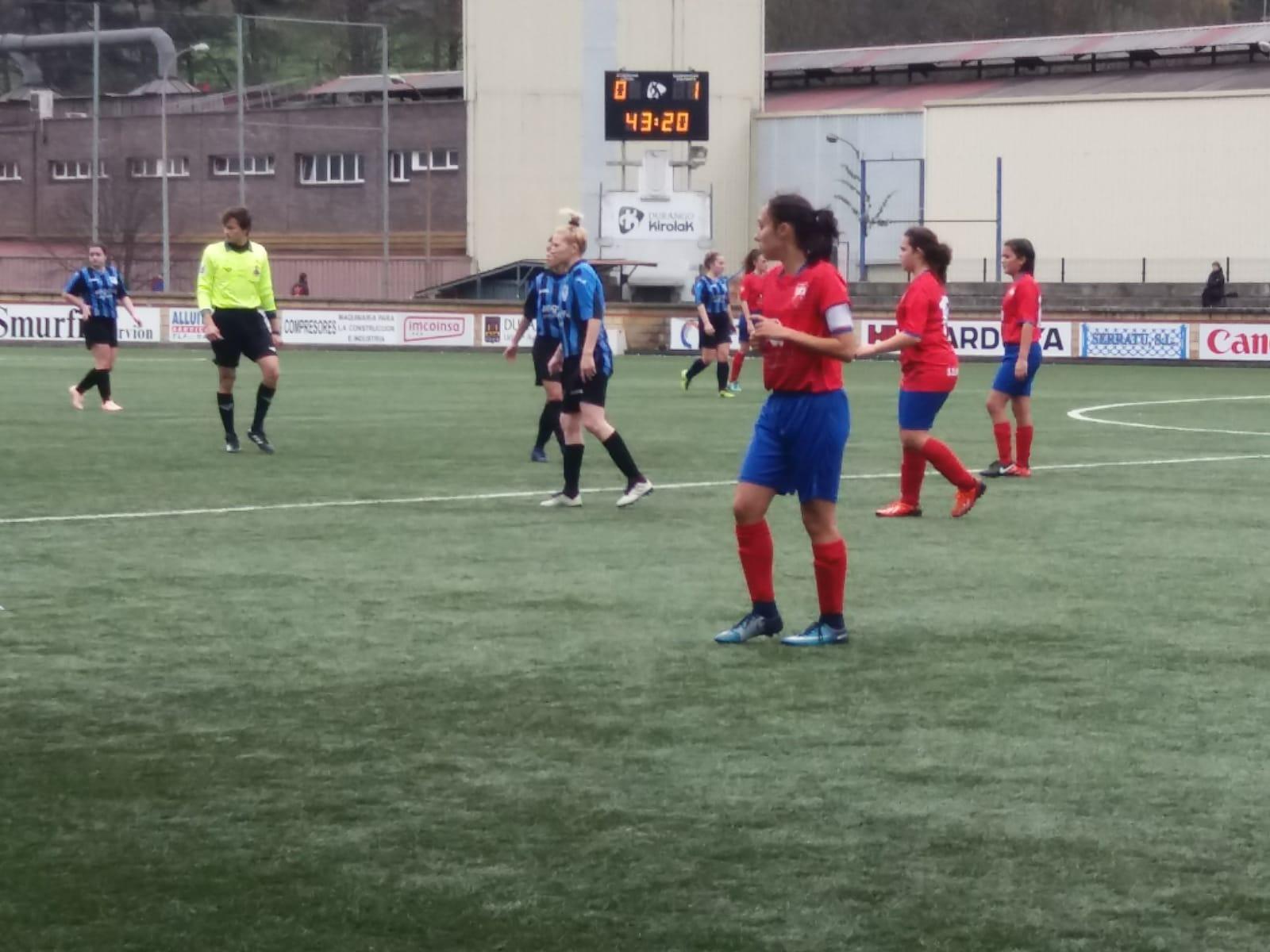 Ezkurdi  0-2  Indautxu Femenino