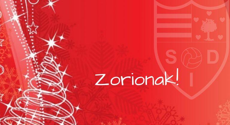 Zorionak!