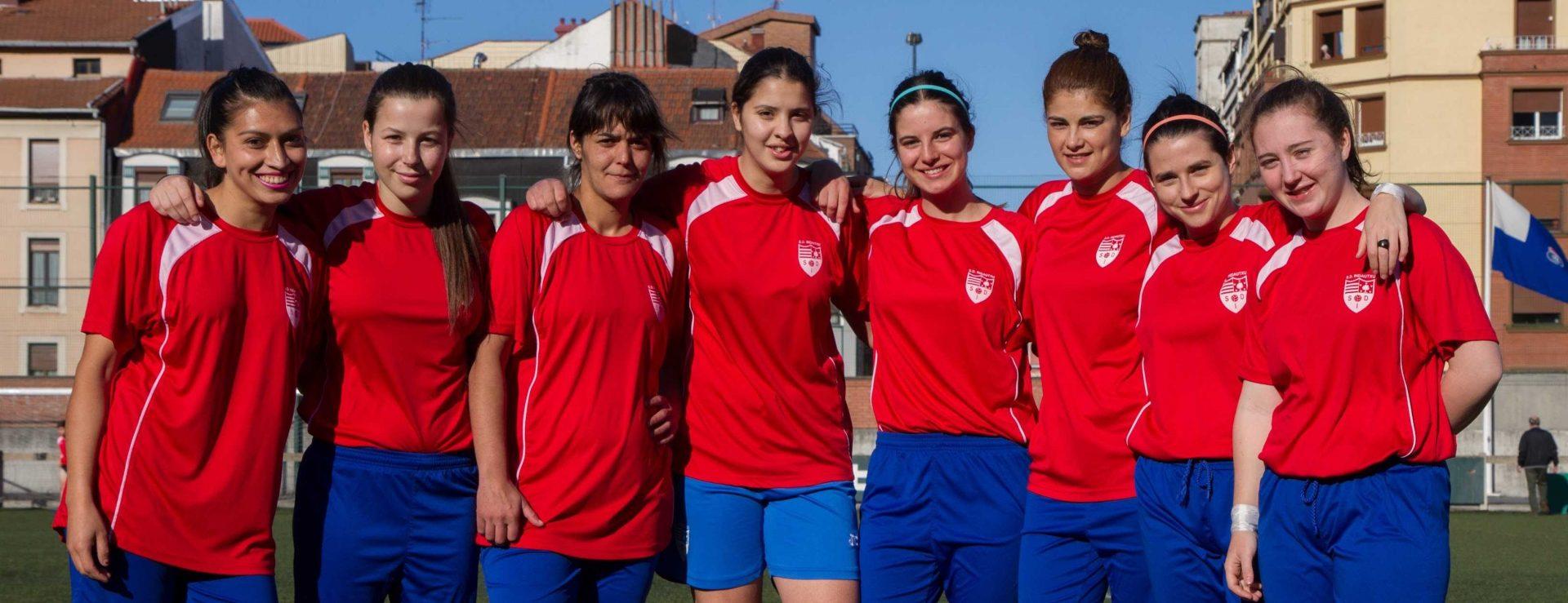 Queremos hacer crecer el fútbol femenino / Emakumezkoen futbola haztea nahi dugu
