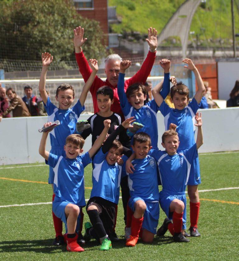 Indautxu Benjamín 2009 A Campeón de Liga 2019