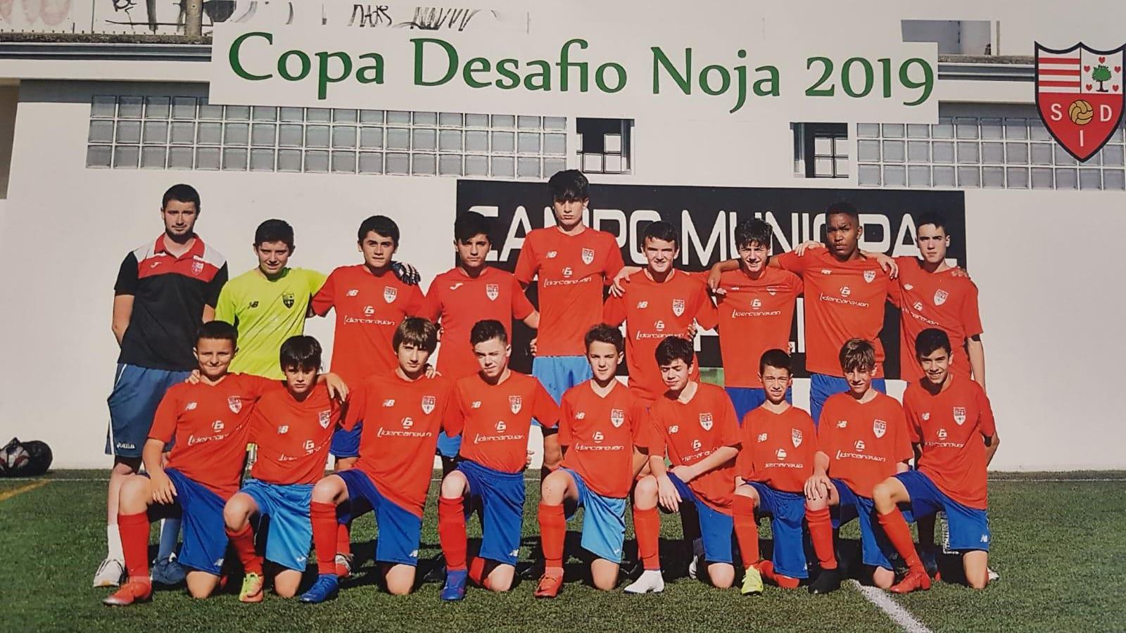 El Infantil 2005R subcampeón de la Fase plata del prestigioso Torneo Copa Desafio Villa de Noja