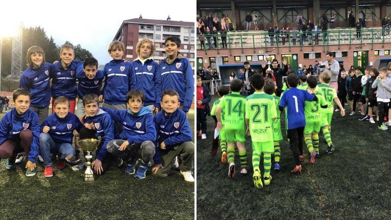 Athletic Club y Romo, campeones del Torneo Txus Pereda (2009 y 2010)