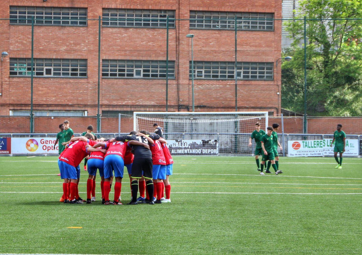 Cadete Liga Vasca 0-6 Athletic Club